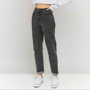 BDG Black Light Acid Wash Vintage Inspired Jeans